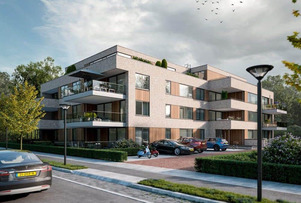 Ruime appartementen door Van de Kolk Bouw